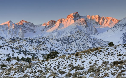 """dismal western snowpack is a climate """"warning sign"""", neil berg"""