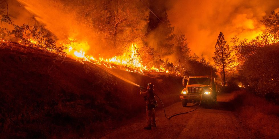 a rare and deadly phenomenon tore through california last week–dubbed 'fire tornado'