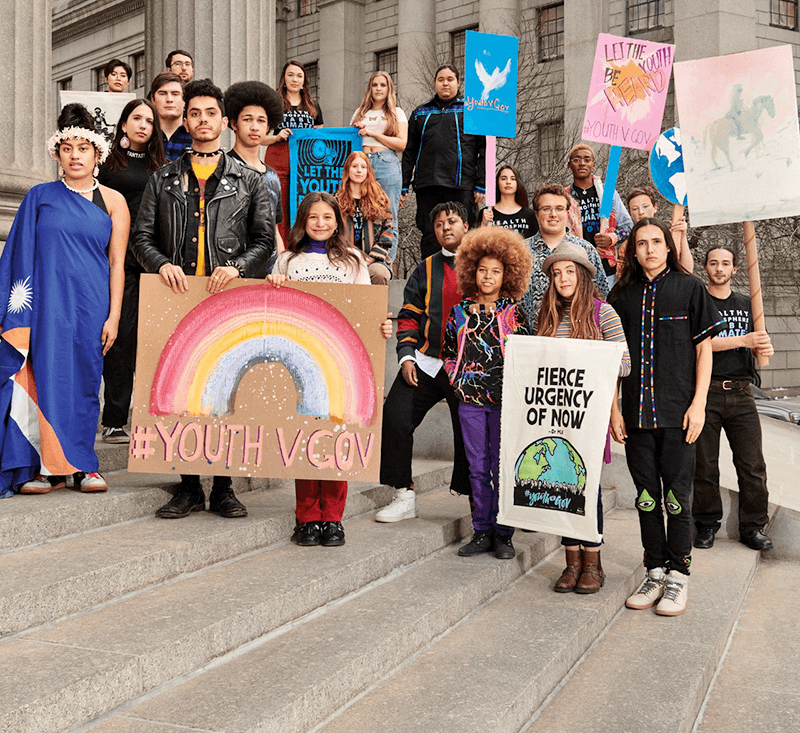 ann carlson in vogue: do americans have a constitutional right to a livable planet? meet the 21 young people who say they do